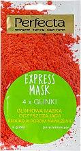 """Profumi e cosmetici Maschera detergente viso """"4 tipi di argilla"""" - Perfecta Express Mask"""