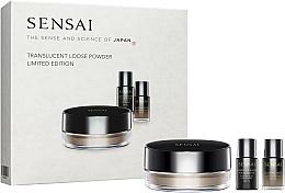 Profumi e cosmetici Set - Kanebo Sensai Translucent Loose Powder Limited Edition (powder/20 g + found/face/2 ml + base/face/2 ml)