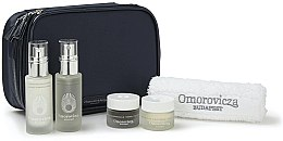 Profumi e cosmetici Set - Omorovicza Essentials (tonic/30ml + balm/15 ml + f/cr/15ml + f/cr/15ml + towel + bag)