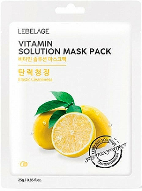 Maschera viso in tessuto - Lebelage Vitamin Solution Mask