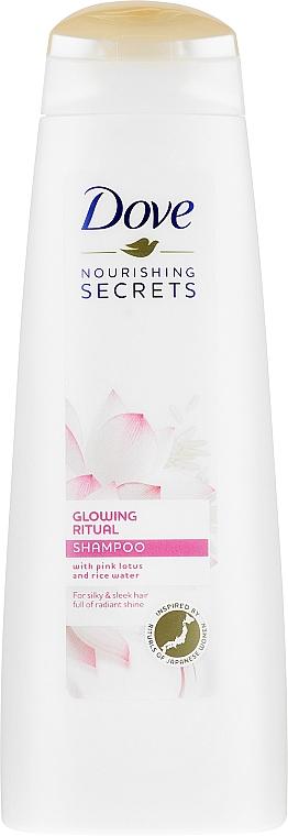 Shampoo per capelli - Dove Glowing Ritual Shampoo