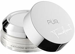 Profumi e cosmetici Cipria trasparente - PUR 4-in-1 Loose Setting Powder