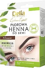 Profumi e cosmetici Hennè per sopracciglia - Delia Cosmetics Eyebrow Expert Brow Henna