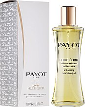 Profumi e cosmetici Olio per viso e capelli - Payot Enhancing Nourishing Oil