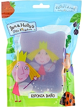 "Profumi e cosmetici Spugna da bagno per bambini ""Ben e Holly"", Holly, viola-blu - Suavipiel Ben & Holly Bath Sp"