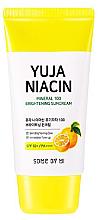 Profumi e cosmetici Crema solare illuminante SPF50 + - Some By Mi Yuja Niacin Mineral 100 Brightening Suncream