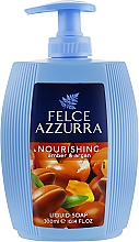 Profumi e cosmetici Sapone liquido - Felce Azzurra Nutriente Amber & Argan