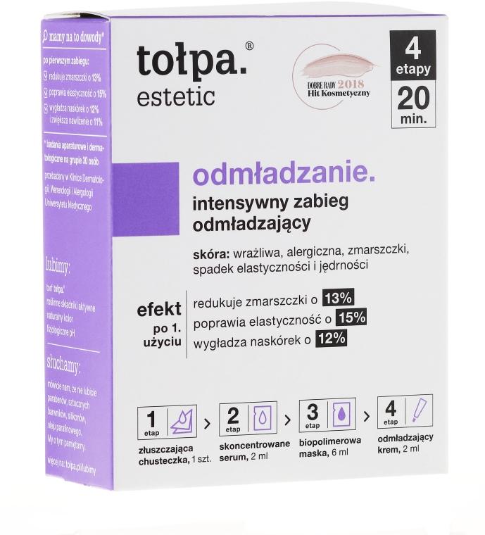 Trattamento in 4 fasi viso anti-età - Tolpa Estetic 4 Step Intensive Treatment Care