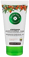 Profumi e cosmetici Condizionante-maschera per capelli rivitalizzante con olio di olivello spinoso - Green Feel's Regenerating Hair Conditioner-Mask With Natural Sea Buckthorn Oil