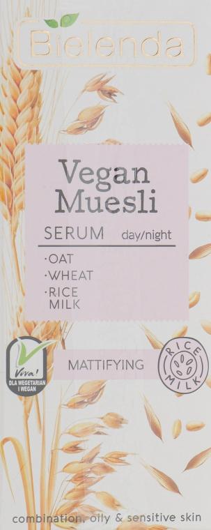 Siero viso opacizzante - Bielenda Vegan Muesli Serum