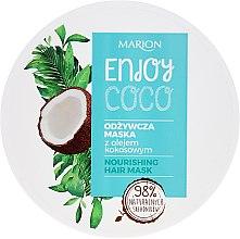 Profumi e cosmetici Maschera capelli nutriente all'olio di cocco - Marion Enjoy Coco Nourishing Hair Mask