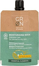 Profumi e cosmetici Maschera viso - GRN Essential Elements Honey & Hemp Cream Mask