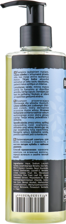 Shampoo per capelli grassi Yin and Yang - Beauty Jar Shampoo For Oily Hair — foto N5