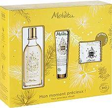 Profumi e cosmetici Set - Melvita L'Or Bio Set (soap/20g + oil/50ml + h/cr/30ml)