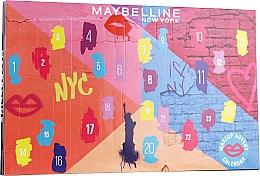 Profumi e cosmetici Set - Maybelline Advent Calendar 2020