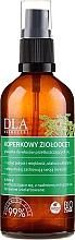 Profumi e cosmetici Condizionante con aceto di mele ed erbe per capelli grassi - DLA