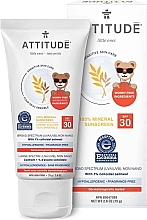 Profumi e cosmetici Crema solare - Attitude Little Ones Sensitive Skin Sunscreen SPF 30