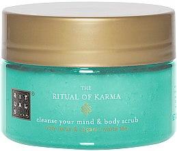 Profumi e cosmetici Scrub corpo - Rituals The Ritual of Karma Body Scrub