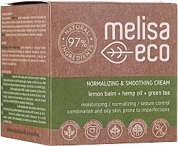 Profumi e cosmetici Crema viso levigante - Melisa Eco