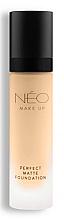 Profumi e cosmetici Fondotinta opacizzante - NEO Make Up Perfect Matte Foundation