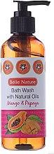 Profumi e cosmetici Gel doccia con mango e papaia - Belle Nature Bath Wash Mango&Papaya