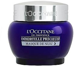 Profumi e cosmetici Maschera viso da notte - L'Occitane Immortelle Precieuse Overnight Mask