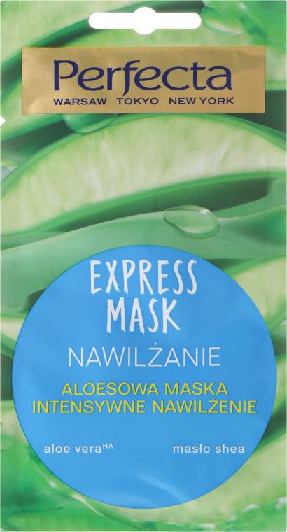 Maschera viso idratante con aloe vera - Perfecta Express Mask