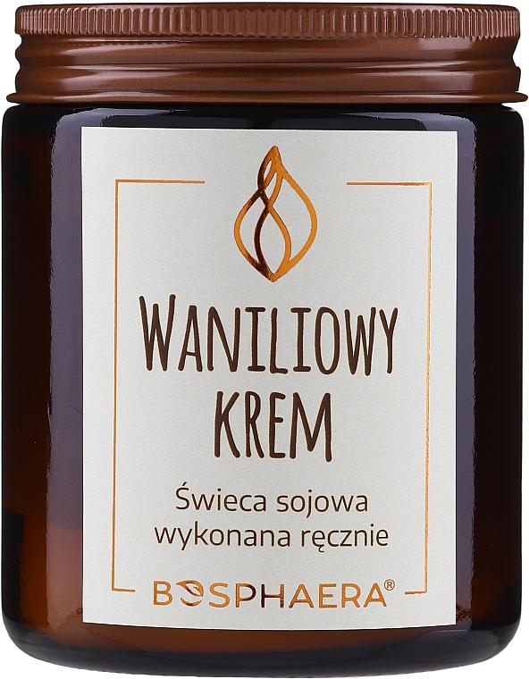 """Candela di soia profumata """"Crema alla vaniglia"""" - Bosphaera Vanilla Cream Candle"""