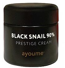 Profumi e cosmetici Crema viso alla bava di lumaca nera - Ayoume Black Snail Prestige Cream