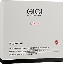 Profumi e cosmetici Set - Gigi Treatment Set (cleanser/100ml+night/cr/50ml+refresher/120ml)