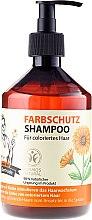 """Profumi e cosmetici Shampoo per capelli """"Protezione del colore"""" - Ricette di nonna Gertruda"""