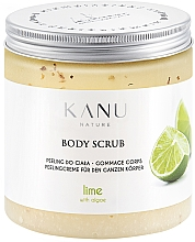 "Profumi e cosmetici Scrub corpo ""Lime"" - Kanu Nature Lime Body Scrub"
