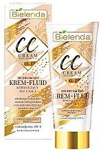 Profumi e cosmetici CC crema-fluido per corpo - Bielenda Magic CC 10in1 Body Correction Cream Waterproof Tanning Effect SPF6