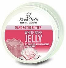 Profumi e cosmetici Burro per mani e piedi - Hristina Stani Chef's Hand And Foot Butter White Rose Jelly