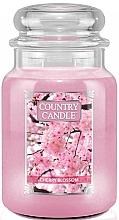 """Profumi e cosmetici Candela profumata """"Fiori di ciliegio"""" (barattolo) - Country Candle Cherry Blossom"""