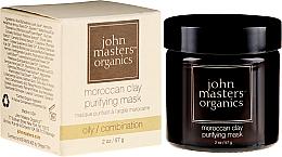 Profumi e cosmetici Maschera detergente per viso - John Masters Organics Moroccan Clay Purifying Mask