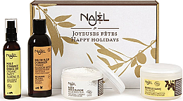 Profumi e cosmetici Set - Najel Cocooning Gift Pack (clay/90g+ butter/150g+oil/80ml+water/200ml)