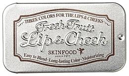 Profumi e cosmetici Balsamo 2in1 - Skinfood Fresh Fruit Lip & Cheek Trio