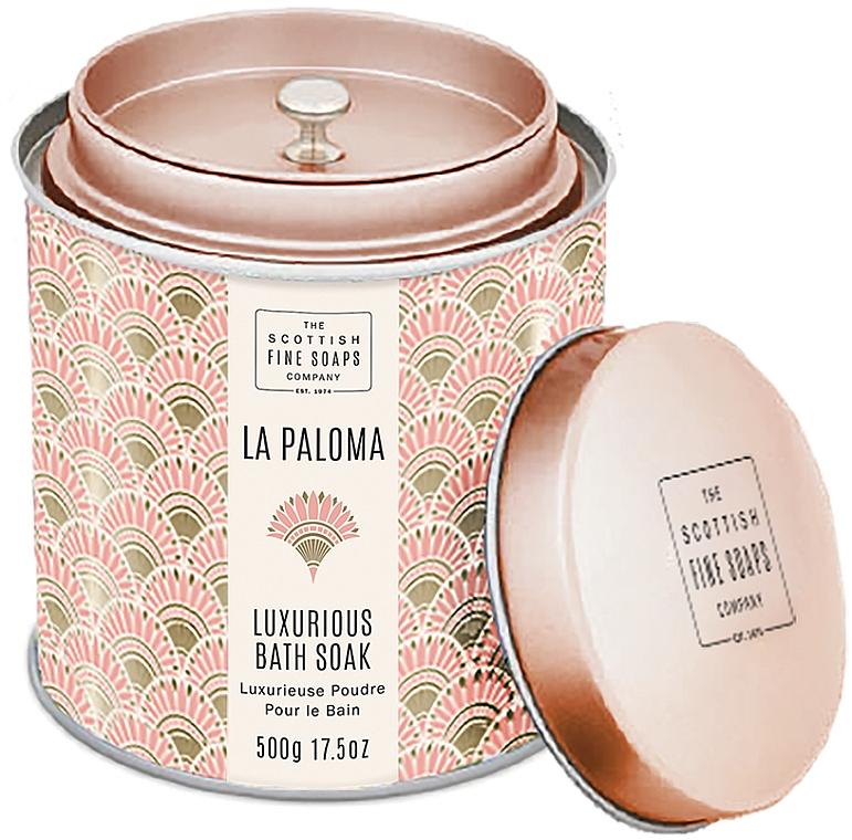 Scottish Fine Soaps La Paloma - Polvere da bagno profumata
