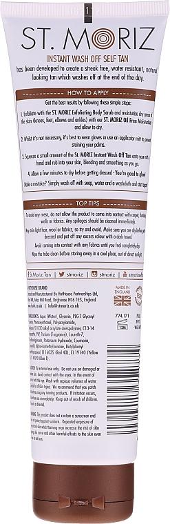 Abbronzante impermeabile - St.Moriz Instant Wash Off Tan Water Resistant — foto N2