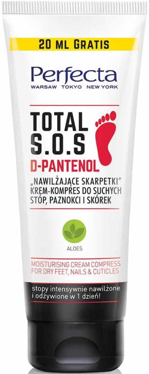 Crema per i piedi asciutti - Perfecta Total S.O.S. D-Pantenol