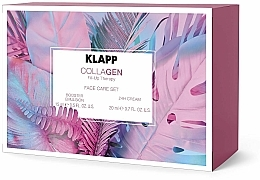 Set - Klapp CollaGen Face Care Set Sommer (f/emulsion/15ml + f/cr/15ml) — foto N1