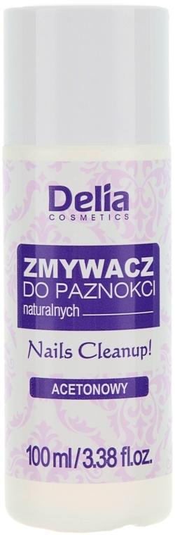 Solvente per unghie con estratto di camomilla - Delia Acetone Nail Polish Remover for Natural Nails — foto N1