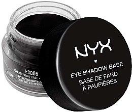 Profumi e cosmetici Primer per ombretti, nero - NYX Professional Makeup Eyeshadow Base Black