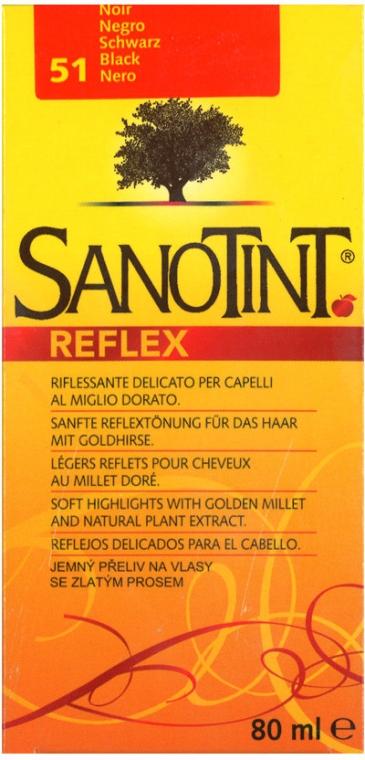 Shampoo colorante per capelli - Sanotint Reflex