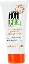 Profumi e cosmetici Shampoo condizionante idratante - Nonicare Garden Of Eden Shampoo & Conditioner