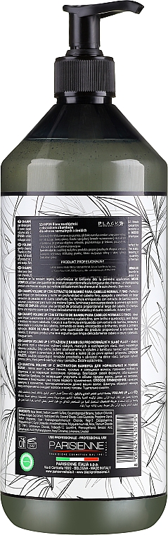 Shampoo per volume dei capelli - Black Professional Line Blanc Volume Up Shampoo — foto N4
