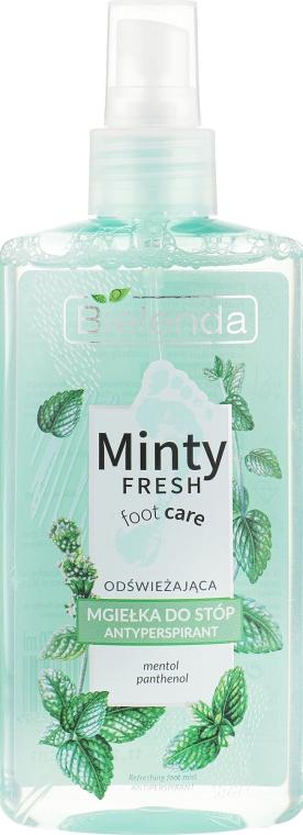 Spray antitraspirante per i piedi - Bielenda Minty Fresh Foot Care Antiperspirant