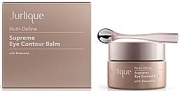 Profumi e cosmetici Balsamo contorno occhi anti/età rivitalizzante - Jurlique Nutri-Define Supreme Eye Contour Balm