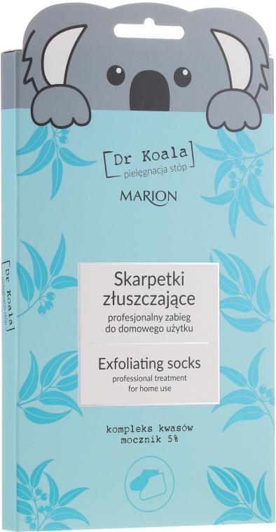 Maschera-calze esfoliante per piedi - Marion Dr Koala Exfoliating Socks